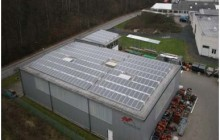 53 kWp - Spedition Geiping - Solar Premium
